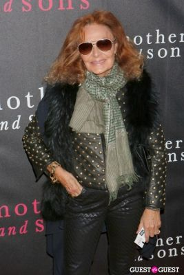 diane von-furstenberg in The Broadway Premiere of Terrence McNally's