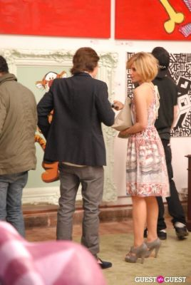 dianna agron in LabArtLA Grand Opening