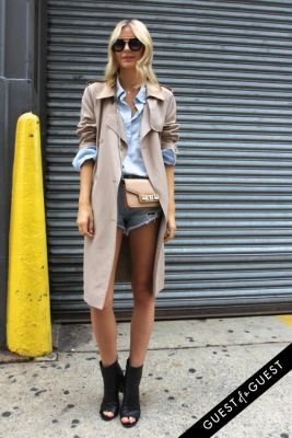 didi gruenwald in NYFW Style From the Tents: Street Style Day 8