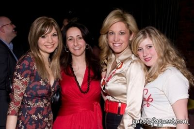 faye rogaski in American Heart Association Young Professionals Toast American Heart Month