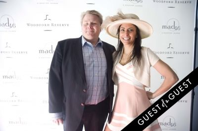 dina ramumto in Kentucky Derby at The Roosevelt Hotel