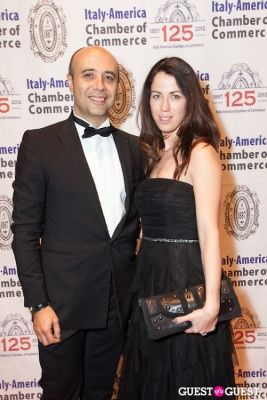 mrs. sorrentino in Italy America CC 125th Anniversary Gala