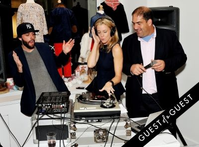 dj ill-digitz in Egg Tribeca Grand Opening