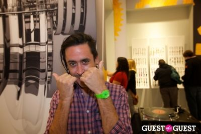 dj mannie-dojo in Swatch Austin Store Opening Celebration