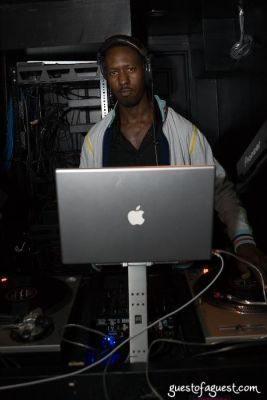 dj serebe in Le Prive Opening Night