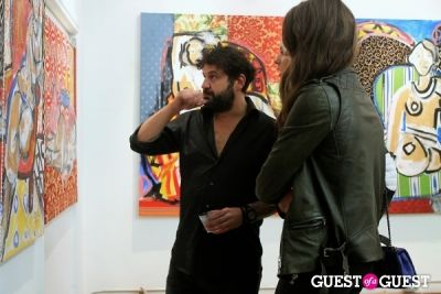 domingo zapata in Domingo Zapata Presents 'A Nod to Matisse' at LAB ART Gallery