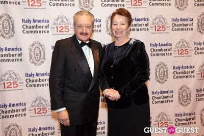 mrs. massaro in Italy America CC 125th Anniversary Gala