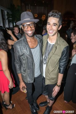 colin welch in BCBGMAXAZRIA Runway After Party