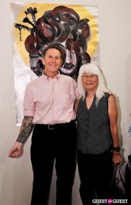 emiko omori in Ed Hardy:Tattoo The World documentary release party