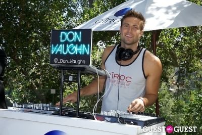 don vaughn in Ciroc Pool Party Celebrating The Birthdays Of Cheryl Burke and Derek Hough