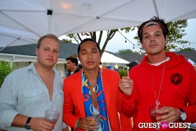 joe rockkstarr in Hamptons Magazine Party At The Capri Hotel