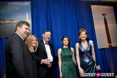 donald graham in Washington Post WHCD Reception 2013