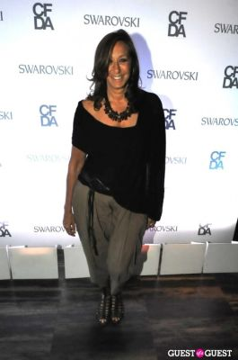 donna karan in Swarovski Pre-CDFA Awards Party