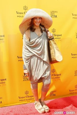 donna karan in Veuve Clicquot Polo Classic at New York