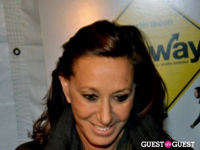 donna karan in The Way Premiere and after party