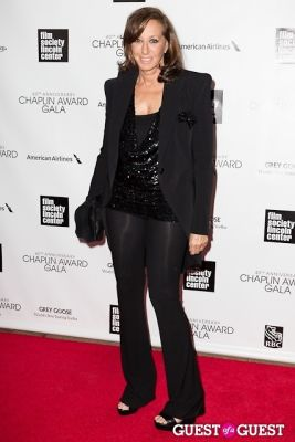 donna karan in 40th Annual Chaplin Awards honoring Barbra Streisand