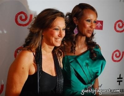 iman in The Wayuu Taya Foundation Gala