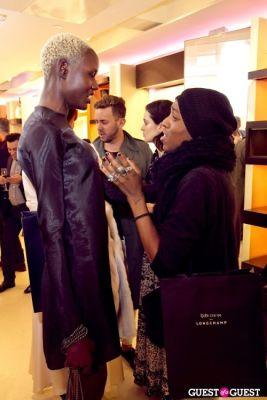 ajak deng in Longchamp/LOVE Magazine event