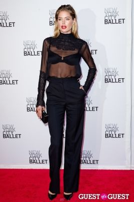 doutzen kroes in New York City Ballet's Fall Gala