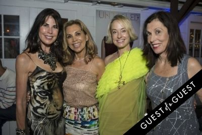 robyn cofer in The Untitled Magazine Hamptons Summer Party Hosted By Indira Cesarine & Phillip Bloch