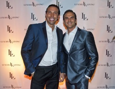 dr.marco antonio-contreras-designer-aleksander-alembert in Luxury Living / FENDI Casa Art Basel party