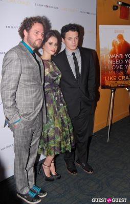 felicity jones in LIKE CRAZY Premiere