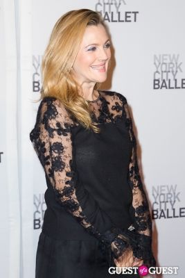 drew barrymore in New York City Ballet's Fall Gala