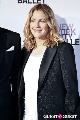 drew barrymore in New York City Ballet's Spring Gala