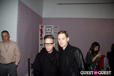 drew elliott in Charlotte Ronson Fall 2011 Afterparty