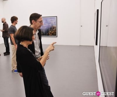 dru arstark in Kim Keever opening at Charles Bank Gallery