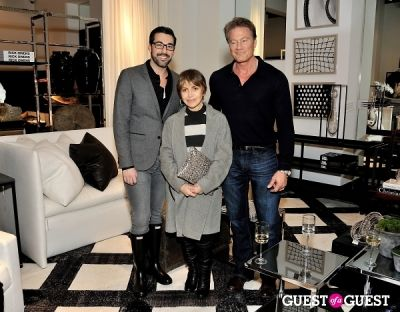 dustin hartley in Michael Dawkins Home NYC Showroom and Design Studio Opening