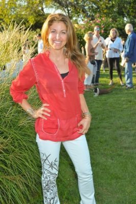 dylan lauren in TOMS Shoes Beach Party
