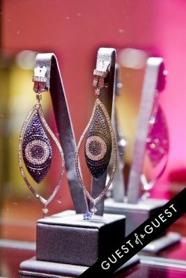 earrings by-helen-yarmak in The 2nd Annual NBA, NFL and MLB Wives Holiday Soiree