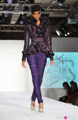 etaylor in NY Fame Fashion Week Charity Benefit
