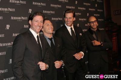 ed burns in Audemars Piguet Royal Oak 40 Years New York City Exhibition Gala
