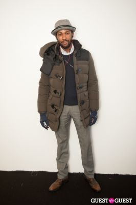 ed kavishe in NYC Fashion Week FW 14 Street Style Day 1