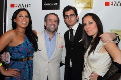 eddie hertzman in Debonair Magazine Launch and Premiere Party