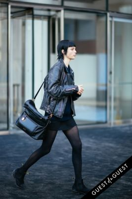 edie campbell in NYFW Street Style Day 7