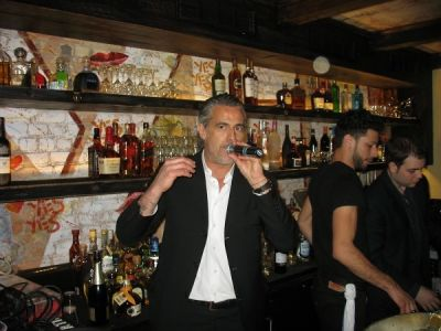 edoardo costa in Serafina Meatpacking Grand Opening!