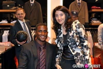 "edson buddle in Hugo Boss ""Boss Store"" Opening"