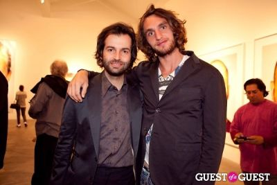 francesco gergati in Martin Schoeller Identical: Portraits of Twins Opening Reception at Ace Gallery Beverly Hills
