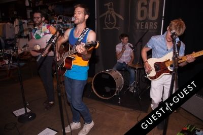 sam fry in Original Penguin 60th Anniversary Party