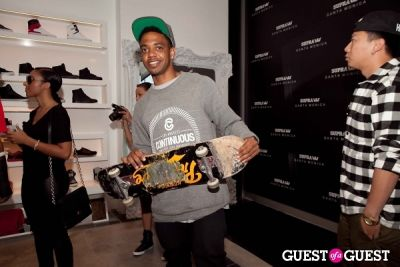 edward uche--boyz-new-york- in SUPRA Santa Monica Grand Opening Event