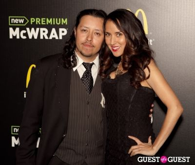 efren ramirez in McDonald's Premium McWrap Launch With John Martin and Tyga Performance