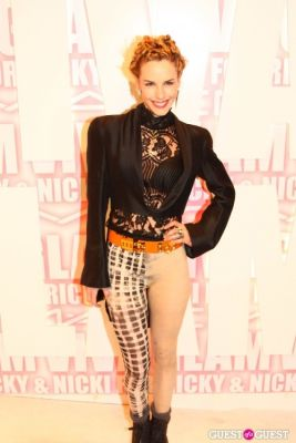 eglantina zing in MAC Viva Glam Launch with Nicki Minaj and Ricky Martin