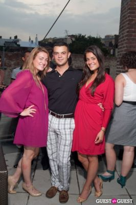 stephen wright in GMHC Fashion Forward Rooftop Reception