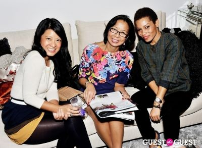 eka take in Luxury Listings NYC launch party at Tui Lifestyle Showroom