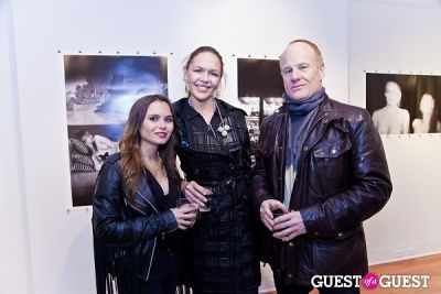 elena chernousova in Galerie Mourlot Livia Coullias-Blanc Opening