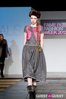 elena vasilevsky in Fame Rocks Fashion Week 2012 Part 11