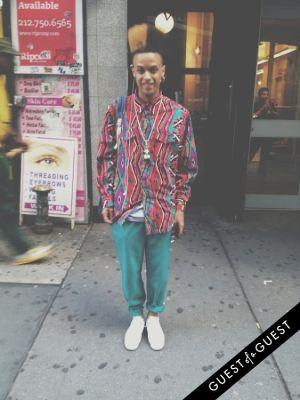 elijah pryor in Summer 2014 NYC Street Style